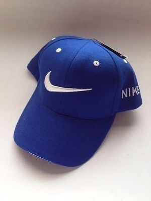 NIKE Just Do It  Cap ( Blue / White Swoosh ) NWT