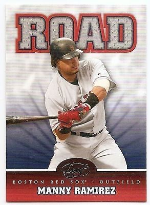 2005 LEAF HOME/ROAD Manny Ramirez #R8