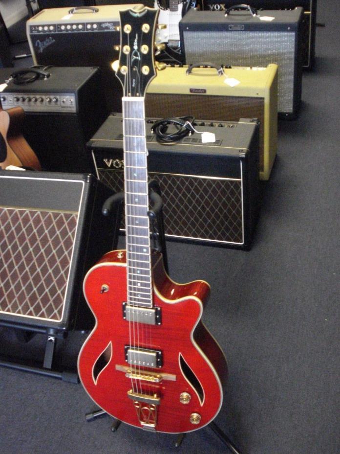 Dean Stylist hollow body guitar