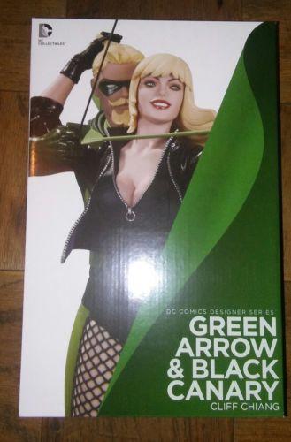 Dc Comics Designer Series Green Arrow & Black Canary Statue