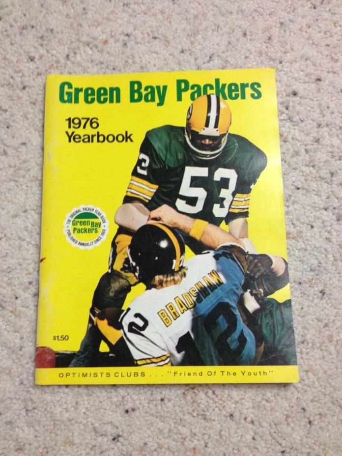 1976 GREEN BAY PACKERS YEARBOOK