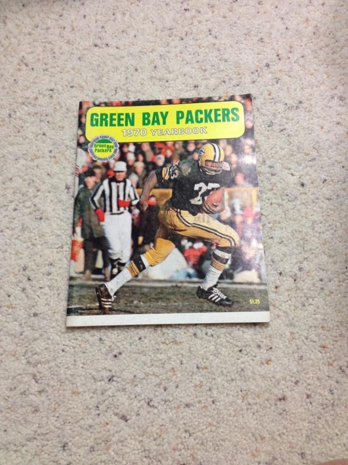 Green Bay Packers 1970 Yearbook