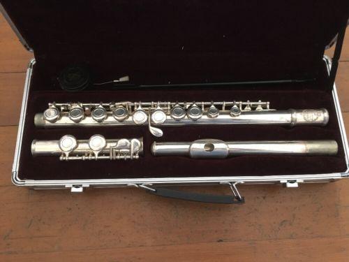 Suzuki musique flute and hard case