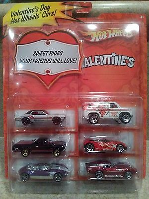 HOT WHEELS VALENTINE'S DAY 6-PACK 2009