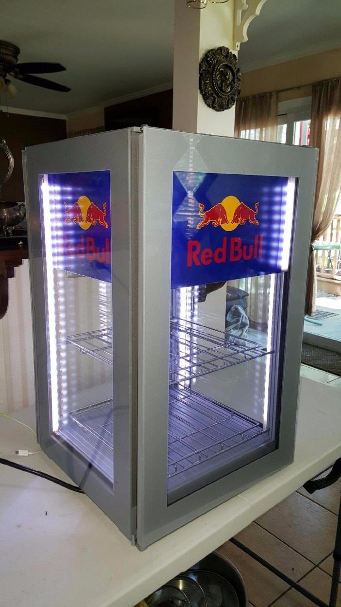 Red Bull Mini Refrigerator Fridge - New -  MAN CAVE -Bar Cooler
