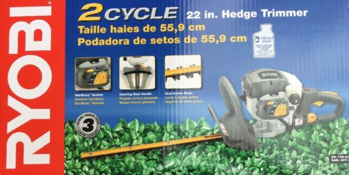 Ryobi 2 Cycle Gas Hedge Trimmer 22