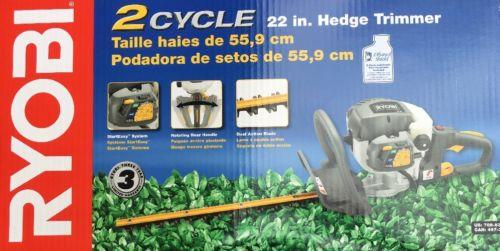 Ryobi 2 Cycle Gas Hedge Trimmer 22