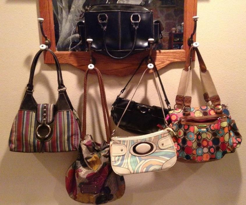 LOT Handbag Purse LILY BLOOM BASS REACTION JACLYN SMITH RELIC ST JOHNS BAY