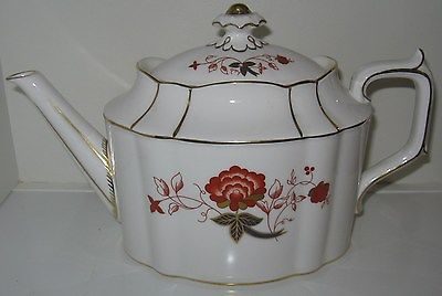 Royal Crown Derby Bali Teapot 6 Cup