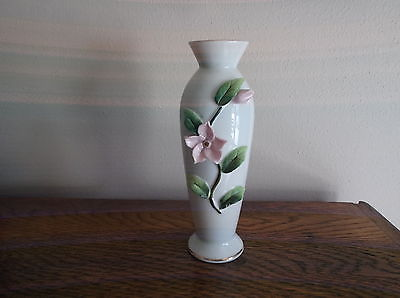 Hand Painted Lefton China Flower Vase