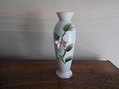 Hand Painted Lefton China Flower Vase