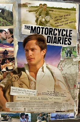The Motorcycle Diaries Original D/S One Sheet Rolled Movie Poster 27x40 NEW 2004