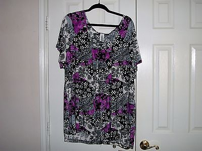 Women's Plus Tops LOT- 4X, 5X, 6X - Each 10 Pc Lot has multiple sizes & styles