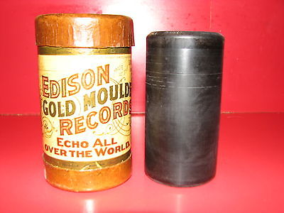 Edison Gold Moulded Record Cylinder #9417 Band: Iola