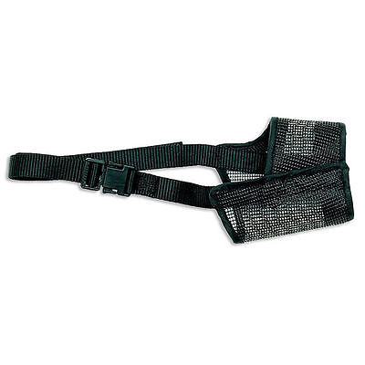 Coastal Best Fit Dog Mesh Muzzle Size 4 Adjustable Black FREE Shipping