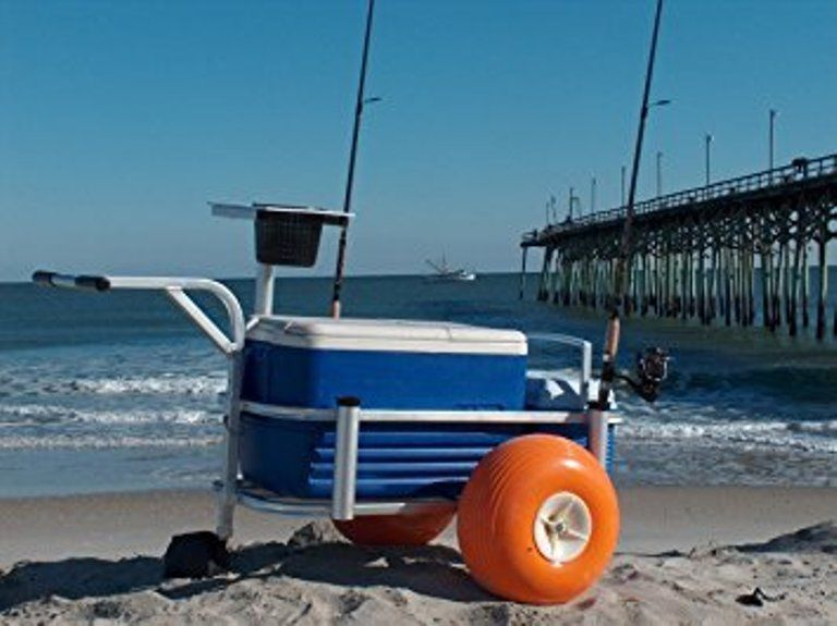 Rolling beach cart for sale classifieds for Fishing carts for sale