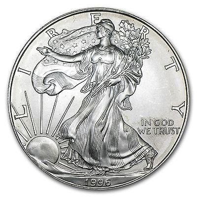 1996 American Silver Eagle Coin