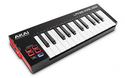 Akai LPK25 WIRELESS 25-Key Bluetooth USB MIDI KEYBOARD