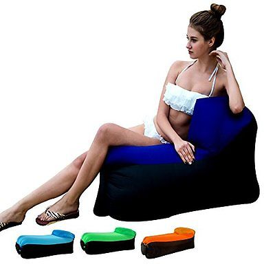 Inflatable Lounger Compression Sacks Chair with portable carry bag for various