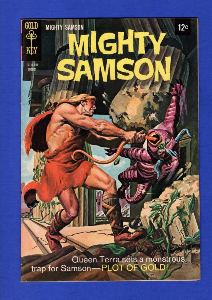 MIGHTY SAMPSON #15 VF+ SILVER GOLD KEY COMICS 1968