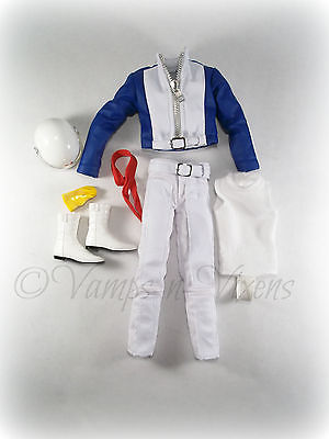 Clothes/Complete Outfit from Mattel Barbie Speed Racer Ken Doll NEW