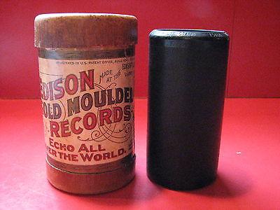 Edison Gold Moulded Record Cylinder #7581 Quartette, Vasper Service