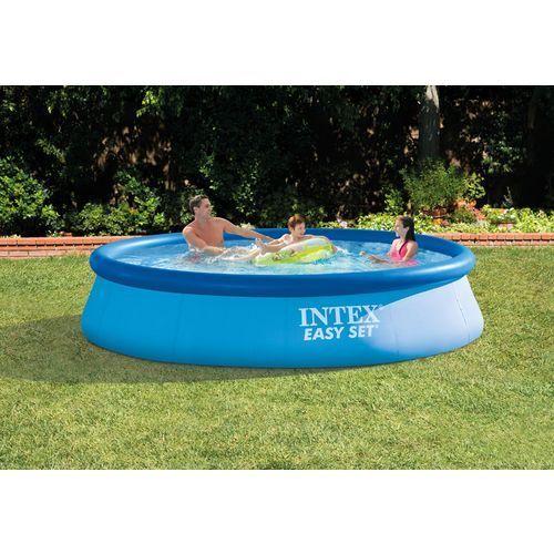 INTEX 12 ft x 30 in Easy Set 530 Gal Filter Pump Family Summer Fun Friends Kids