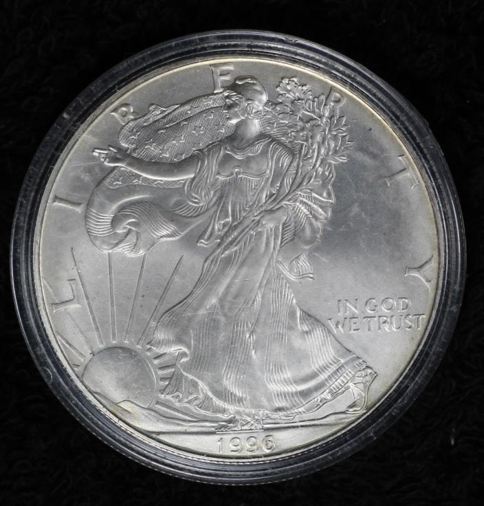 1996 American Silver Eagle - Better Date Eagle