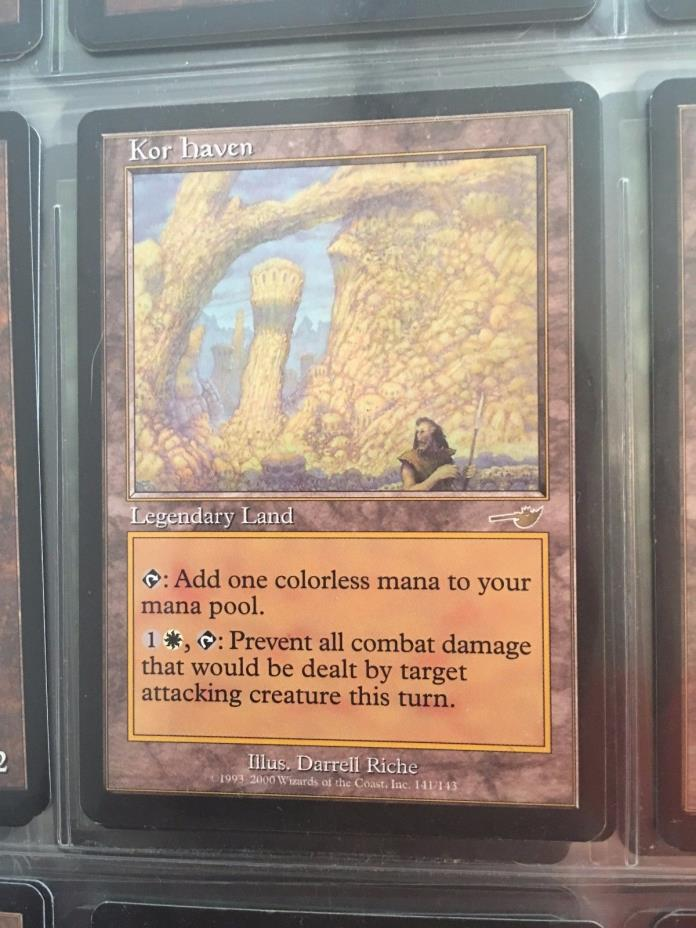 Magic the Gathering Nemesis A Complete Set - Near Mint/Some Cards Slight Play