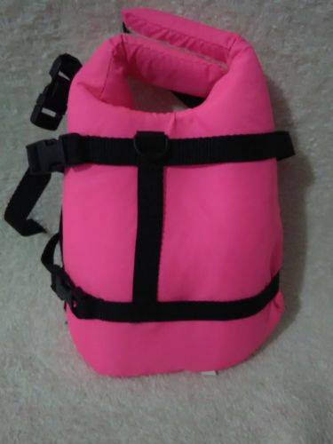 Lifejacket For Dogs Pink Size Small