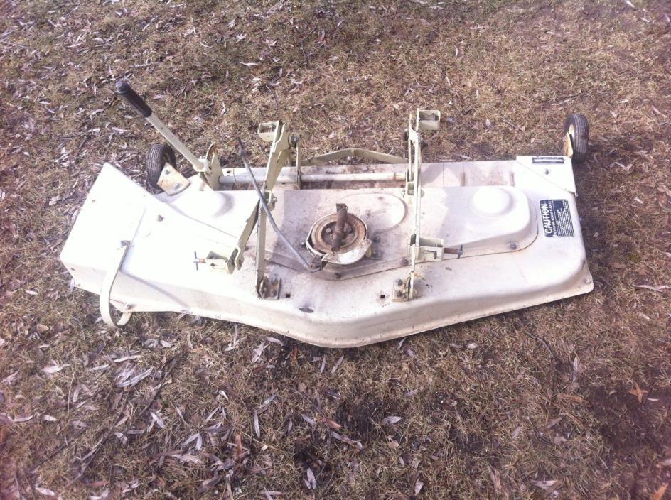 SEARS ST16 MOWER DECK 917 253260 COMPLETE W/MOUNTING HARDWARE ORIGINAL VERY NICE
