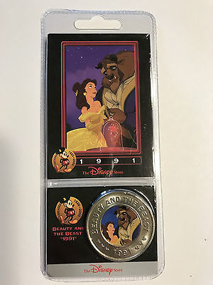 1991 Disney Beauty and the Beast Coin