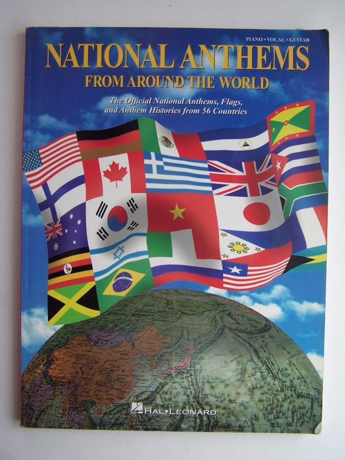 National Anthems from Around the World Sheet Music Piano Vocal Guitar Hal Leonar