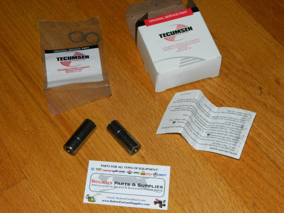 Tecumseh  OH150,OH140,OH160 Valve guide kit 730218  Bolens, sears suburban OEM!!