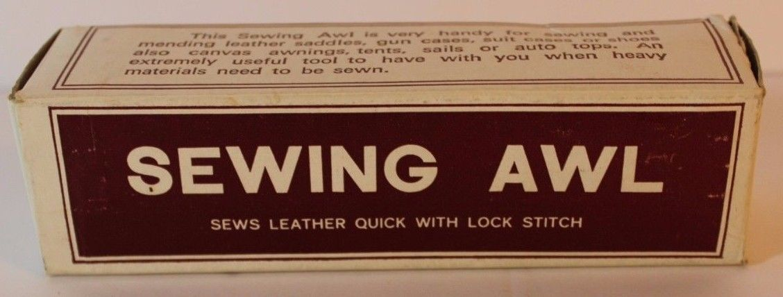 Vintage Popular Products Sewing Awl #1331 Leather Tool - FREE EXPEDITED SHIPPING