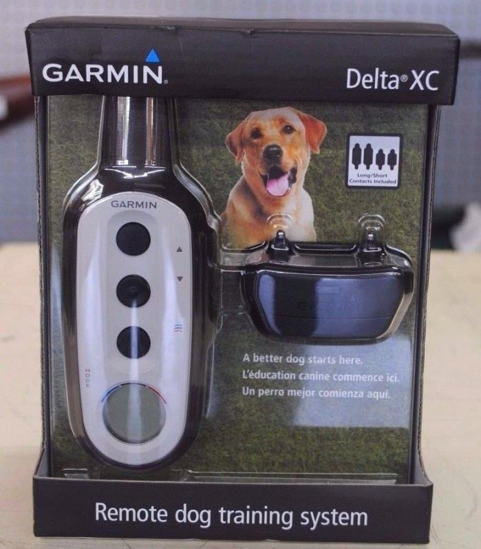 NEW!! Garmin Delta XC Remote Dog Training System Collar 010-01470-00