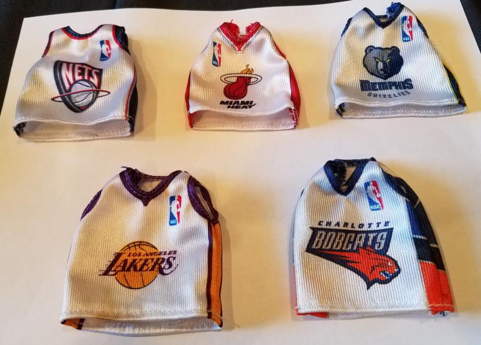 Mc Donald's NBA Mini Jerseys Lot
