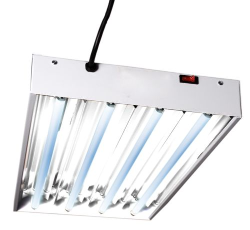 Hydrofarm FLT24 2' Four Tube T5 Fluorescent Light System