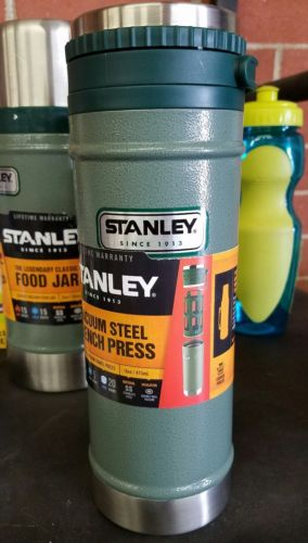 Stanley 16oz Classic French Travel Press Vacuum Insulated Leak Proof Stainless