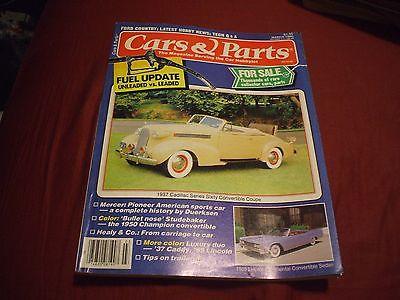 CARS & PARTS Car Magazine - March 1986