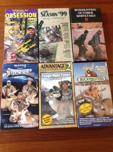 Whitetail Deer Hunting Videos Set Of Six