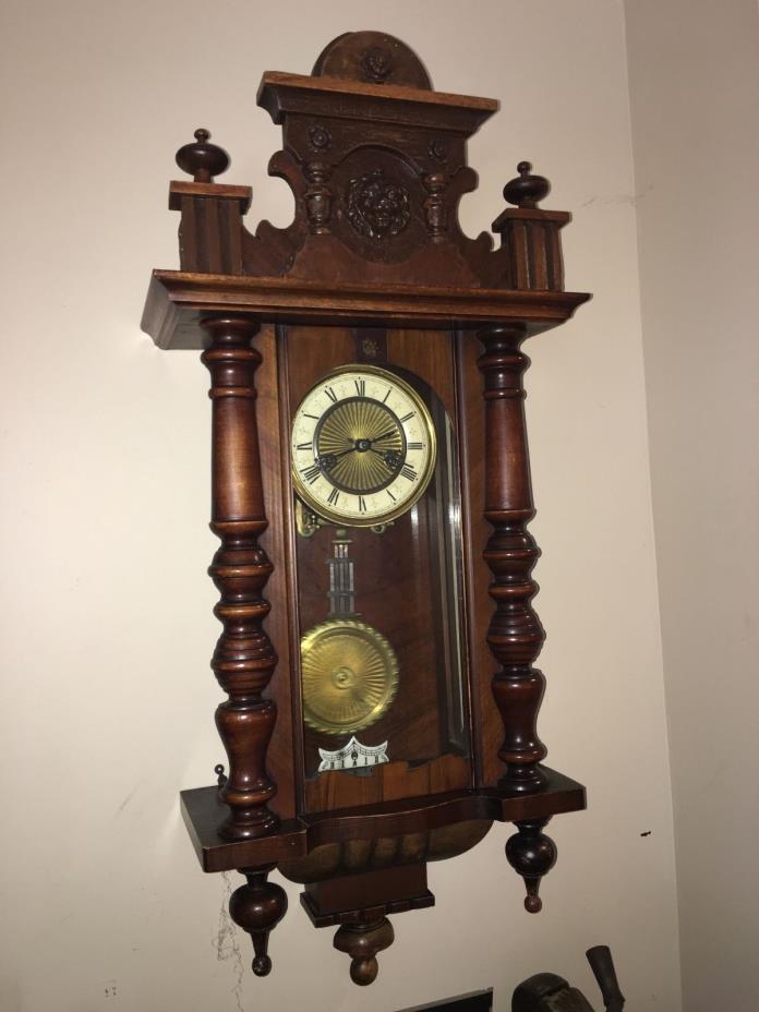 VICTORIAN CLOCK VIENNA REGULATOR 36