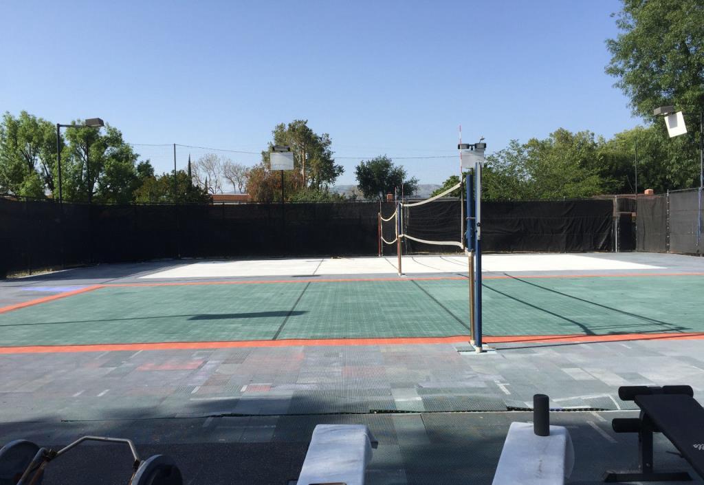 Outdoor Sport Court-8,500 sq.ft