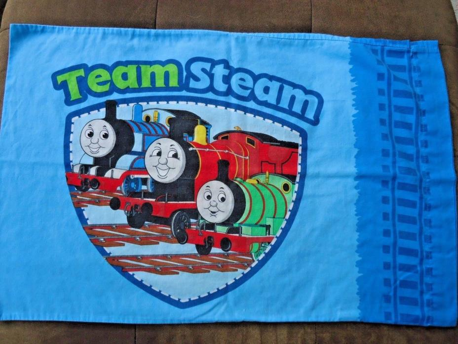 Thomas the Train Twin Flat Sheet and Pillow Case Vintage