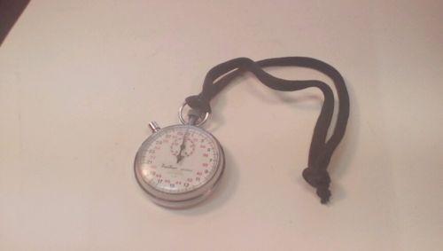 vintage wind up stopwatch