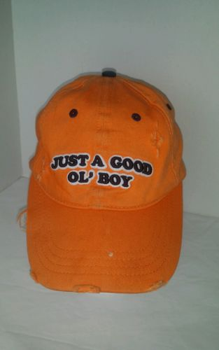 The Dukes of Hazzard Baseball Hat (Just A Good Ol' Boy) 100% Cotton