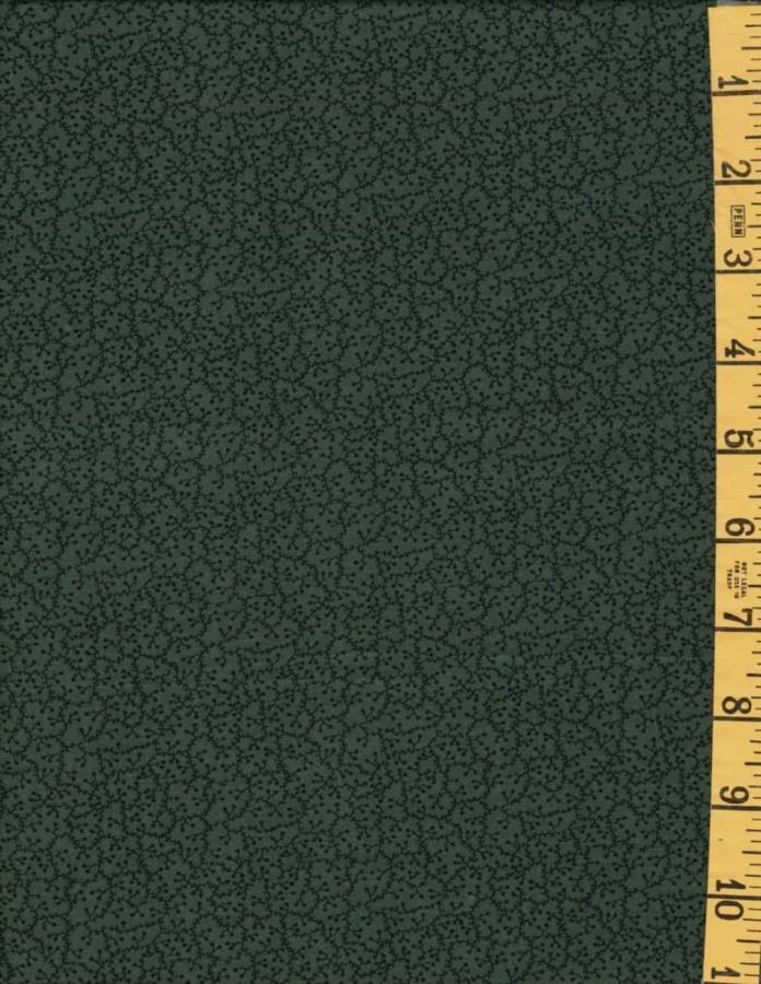 New Cotton Quilting Sewing Fabric P & B Pennsylvania Plain Green Tonal 523G