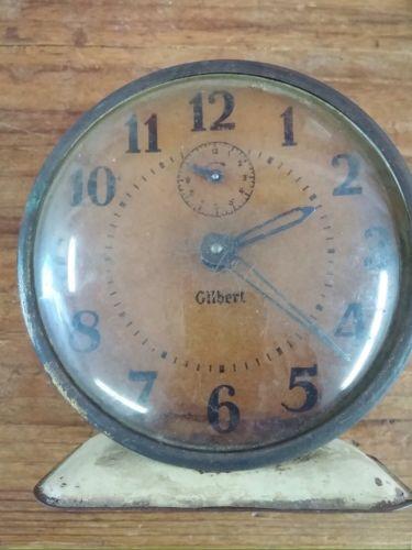 Vintage Gilbert Clock Primitive Decor