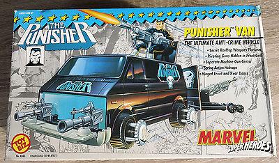 Ultra Rare Vintage 1991 MARVEL Punisher's Van Toy Biz Toybiz 100% Complete
