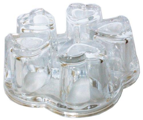 Sun's Tea Solid Crystal Glass Teapot Warmer